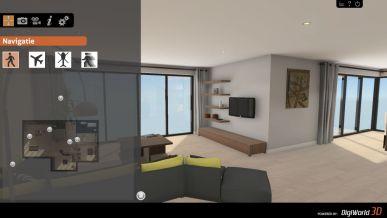 Nieuw demo model interactief interieur