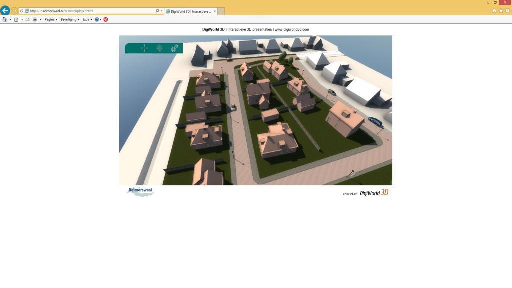 Webplayer versie voor de potentiele klanten