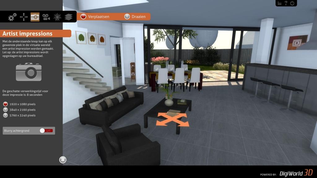 Kamers interactief inrichten naar eigen wens